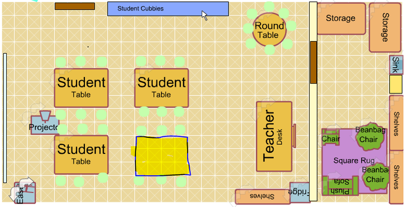 School Classroom Design Guide ~ Ideal classroom layout managing the learning environment